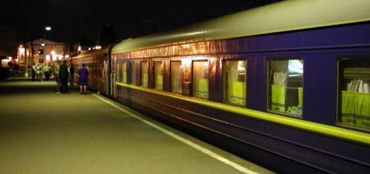 Transsibirische Eisenbahn - Bahnhof Moskau