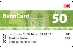 Bahncard - Info, Preis, Kündigung