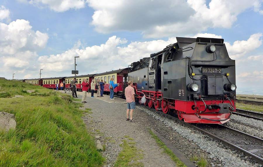 Brockenbahn - Brockenbahnhof
