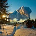 Fichtelbergbahn - Winter