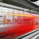 Deutsche Bahn - S-Bahn RheinNeckar in Ludwigshafen Mitte