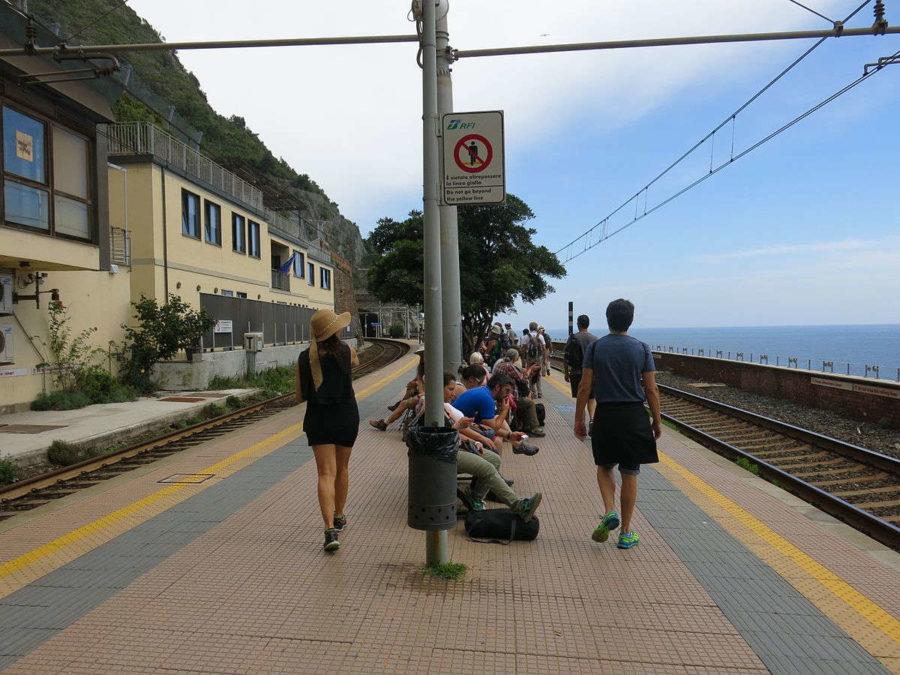 Mit Interrail nach Italien: Manarola in Ligurien