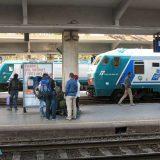 Mit einem Interrail-Pass nach Italien: Bahnhof La Spezia.