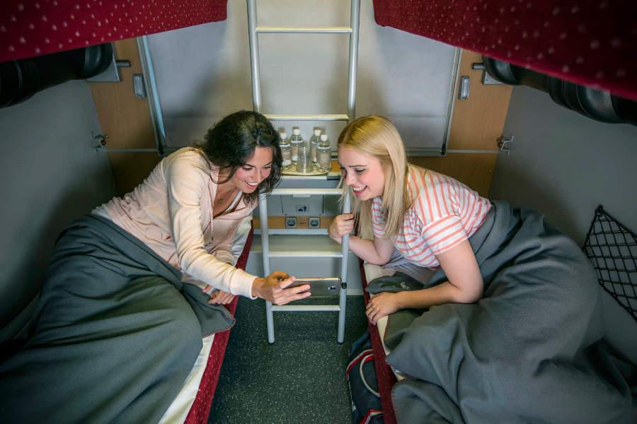 ÖBB-Nightjet - Nachtzug - Schlafwagen