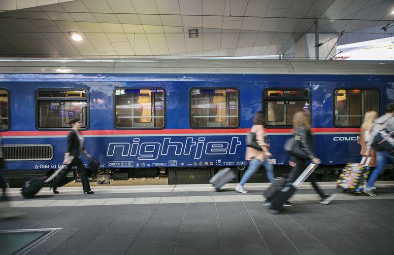 öbb Nightjet Ab 29 Tickets Verbindungen Nachtzug Infos