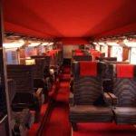 TGV - Erste Klasse im TGV-Duplex