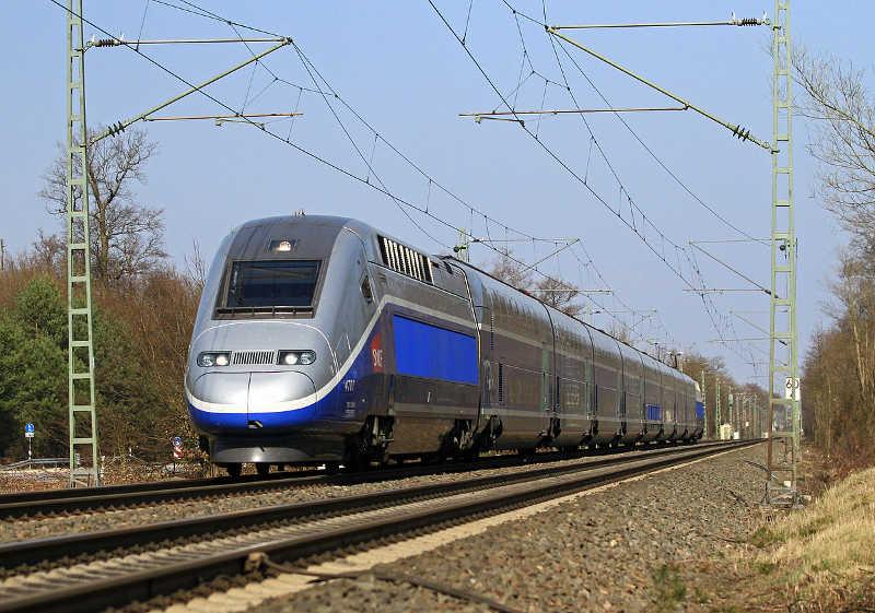 TGV - Verbindung Frankfurt-Marseille
