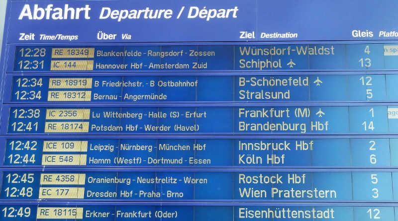 Deutsche Bahn Fahrplanauskunft Streik