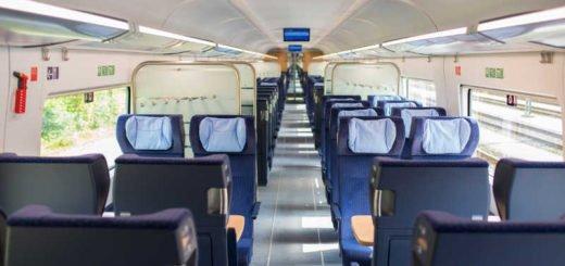 Deutsche Bahn - ICE 4 - Blick in die 2. Klasse