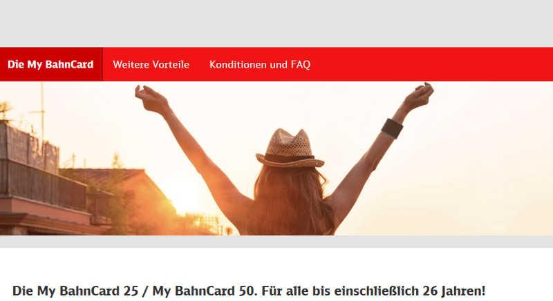 my bahncard gnstige bahncard fr junge leute - Bahncard Kndigen Muster