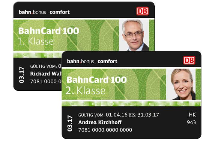 BahnCard 100