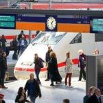 Deutsche Bahn - ICE am Hauptbahnhof München