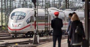 Deutsche Bahn - Zugverkehr in Nürnberg