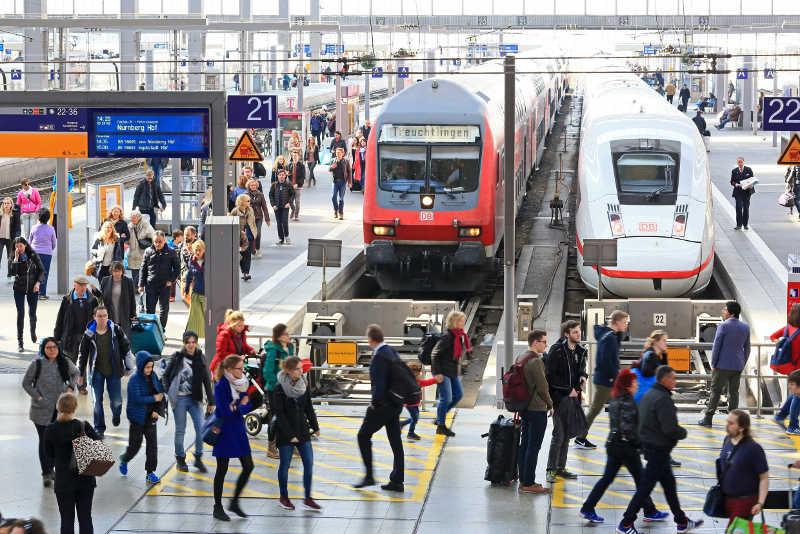Deutsche Bahn - Hauptbahnhof München