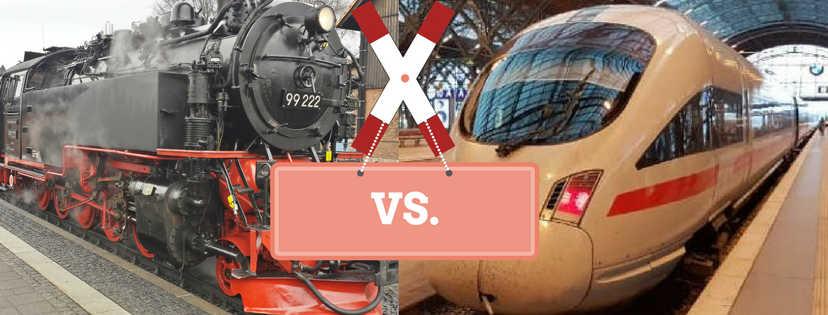 bahndampf.de-Voting: Lieblingsbahn der Deutschen