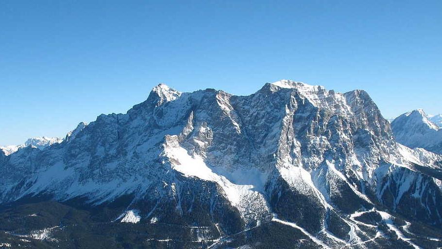 Zugspitze Westansicht
