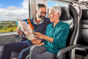 Bahn und Hotel Städtereisen - Bahnfahrt 1. Klasse
