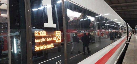 Bahnstrecke Berlin-München - Wagenanzeiger