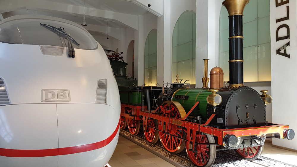 DB Museum Nürnberg - Adler vs ICE