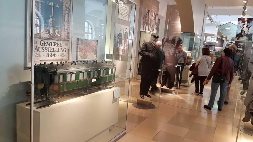 DB Museum Nürnberg - Ausstellung Eisenbahngeschichte