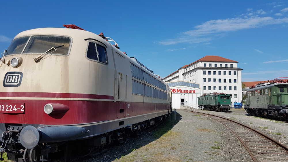 DB Museum Nürnberg - Freigelände Fahrzeuge