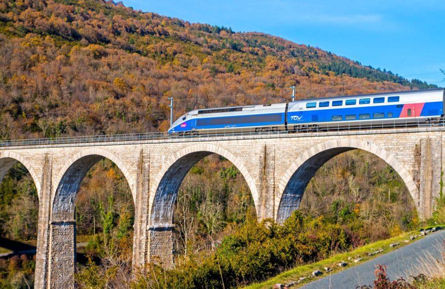 Bahn Frankreich - TGV 2