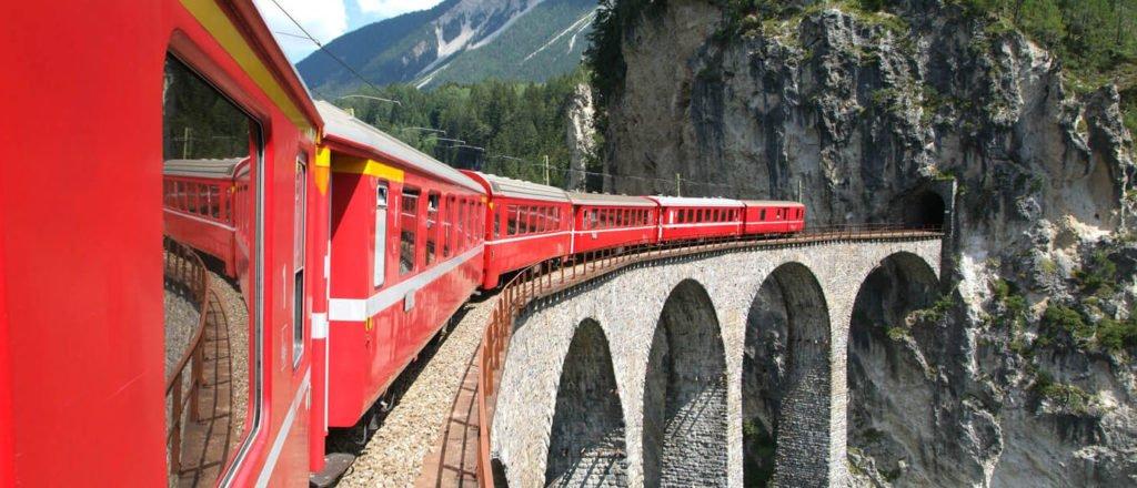 Bahn Schweiz - Panorama