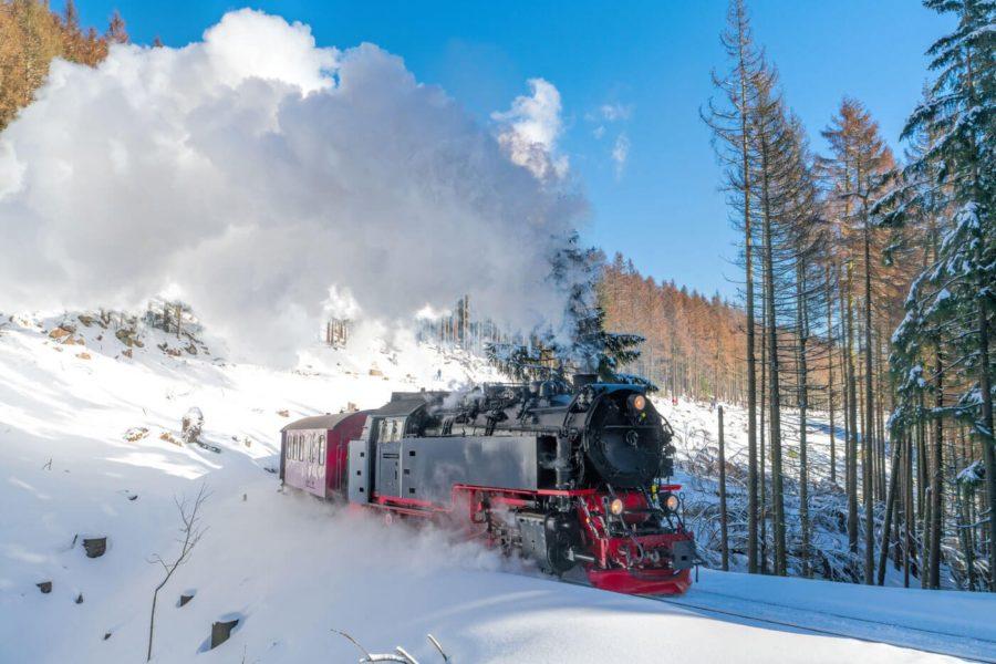 Harzer Schmalspurbahn Winter