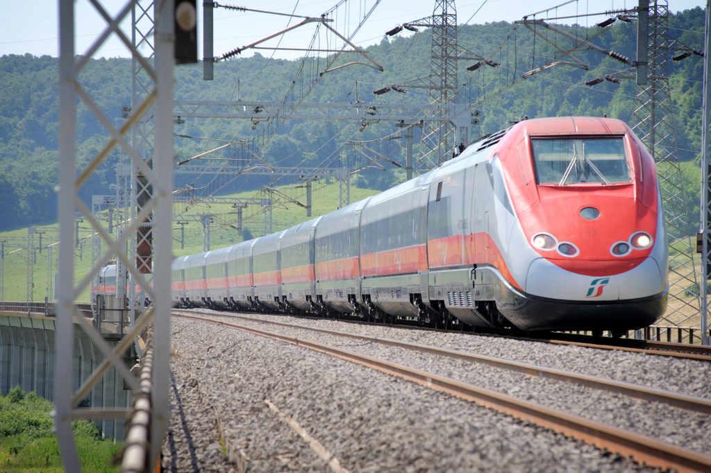 Bahn Italien - Trenitalia - Frecciarossa