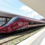Bahn Italien - italo in Neapel