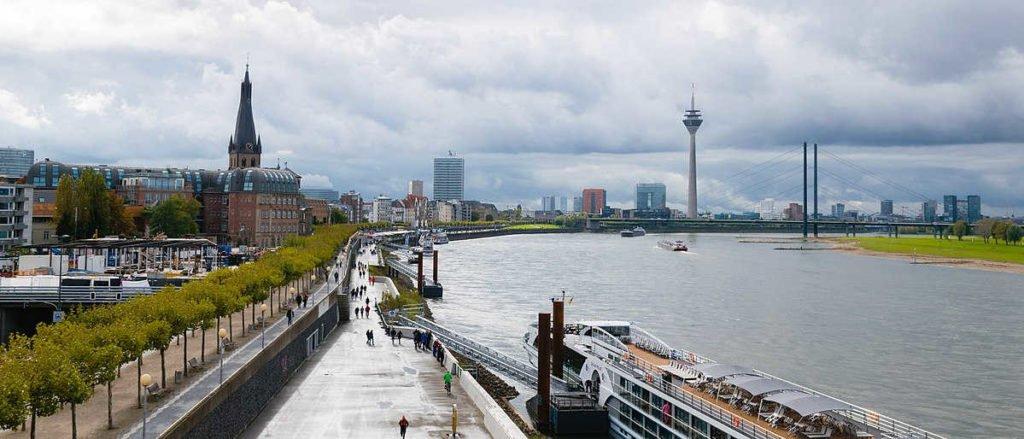 Düsseldorf Rhein-Panorama