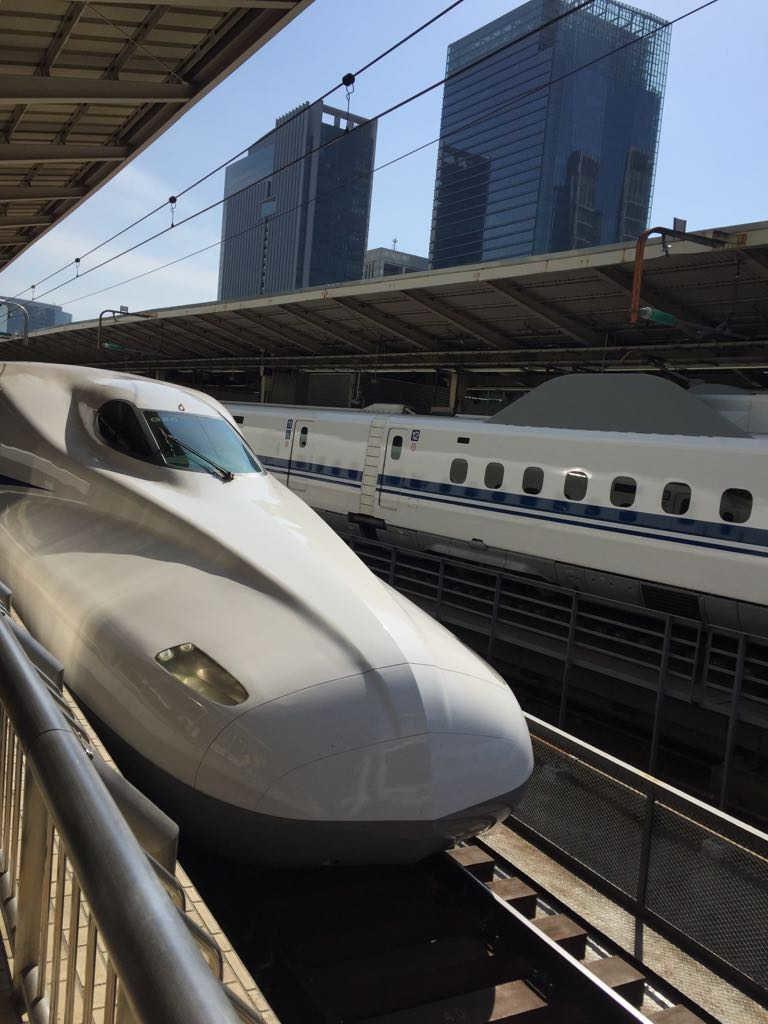 Japan Rail Pass - Shinkansen Nozomi