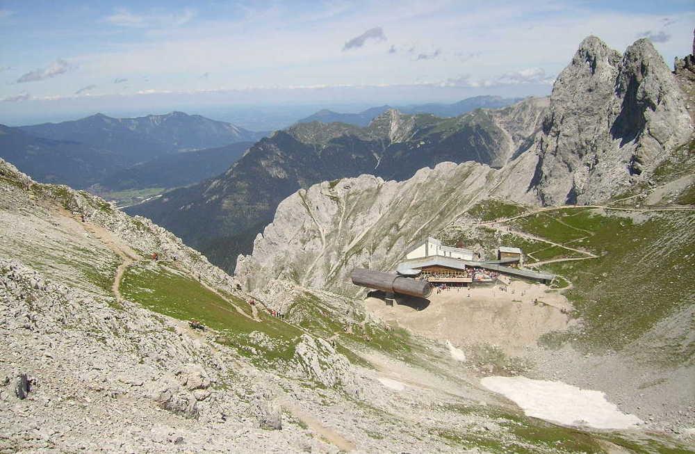 Karwendelbahn - Bergstation - Karwendelspitze