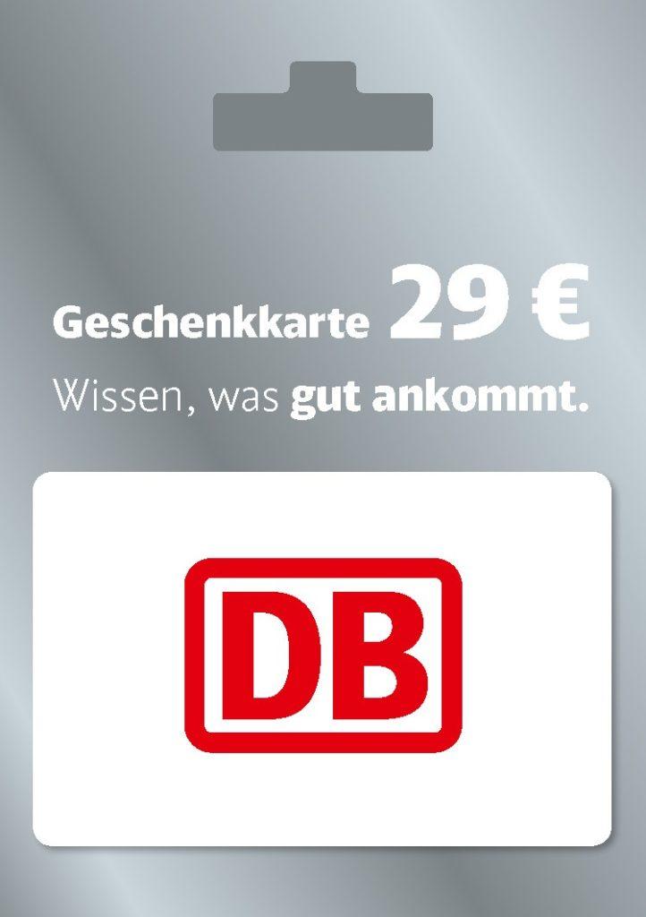 DB Geschenkkarte - Bahnticket-Gutschein von Rewe, Penny, Edeka, Marktkauf & Co.