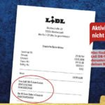 Lidl Bahnticket - Buchungscodes