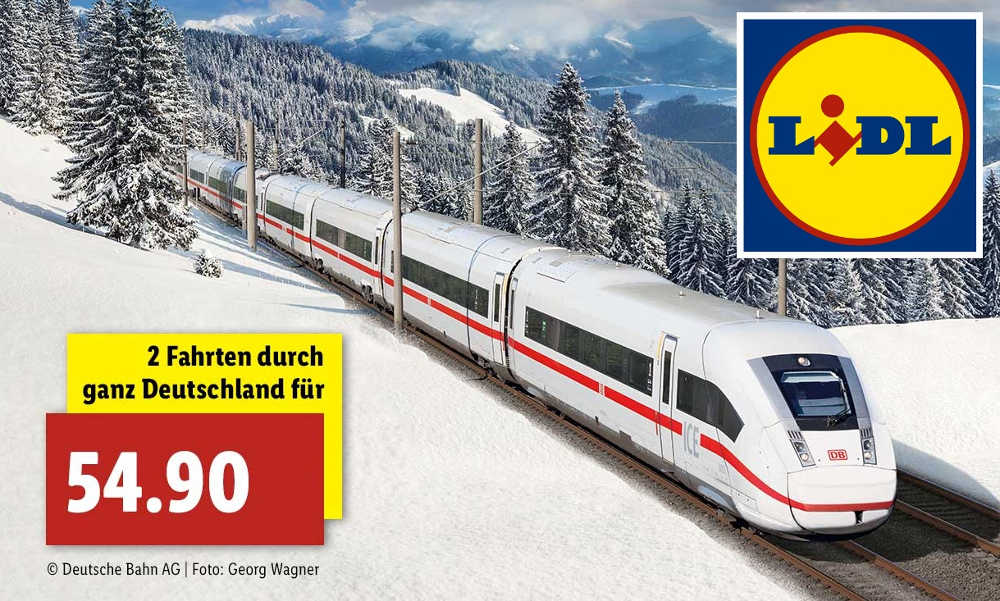 Lidl Bahnticket