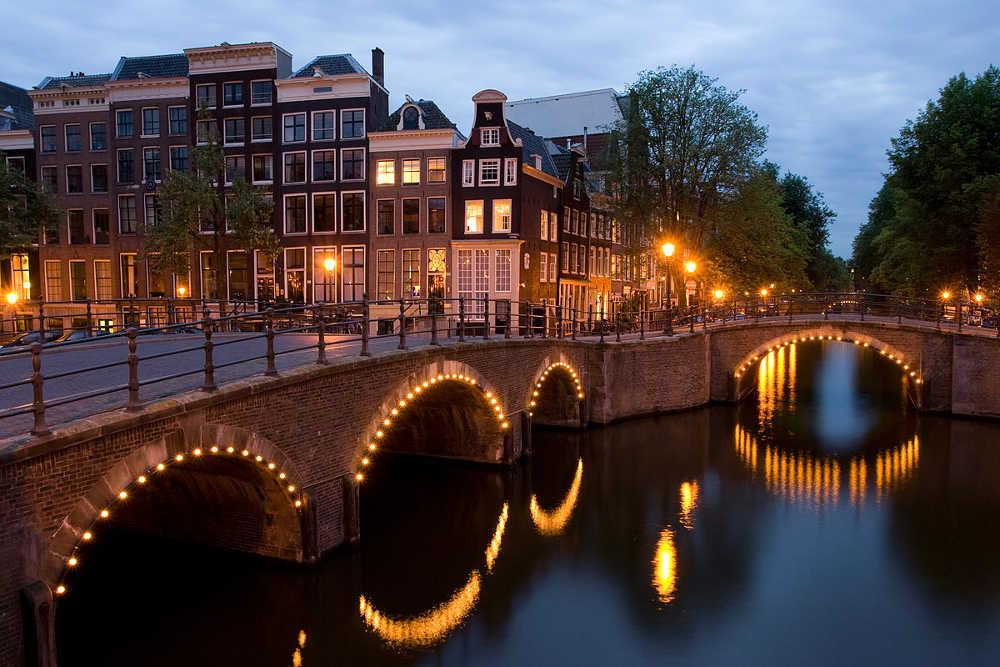 Bahn und Hotel Amsterdam - Keizersgracht-Reguliersgracht