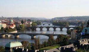 Prag - Moldau und Brücken