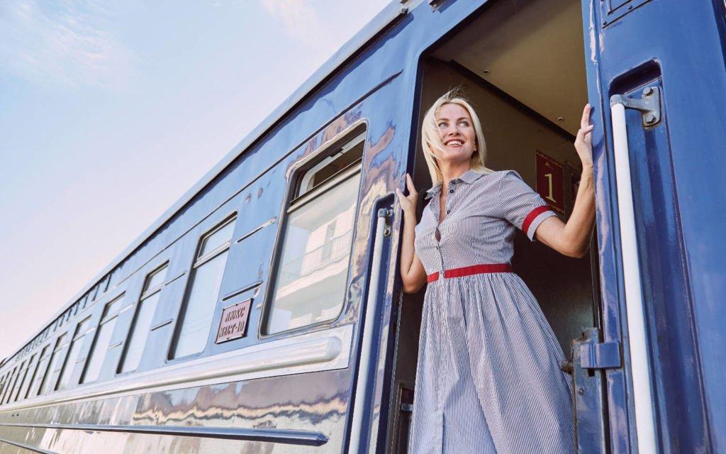Transsibirische Eisenbahn - Einsteigen bitte