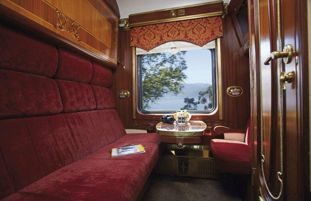 Transsibirische Eisenbahn - Zarengold-Abteile - Kat III Nostalgie-Comfort