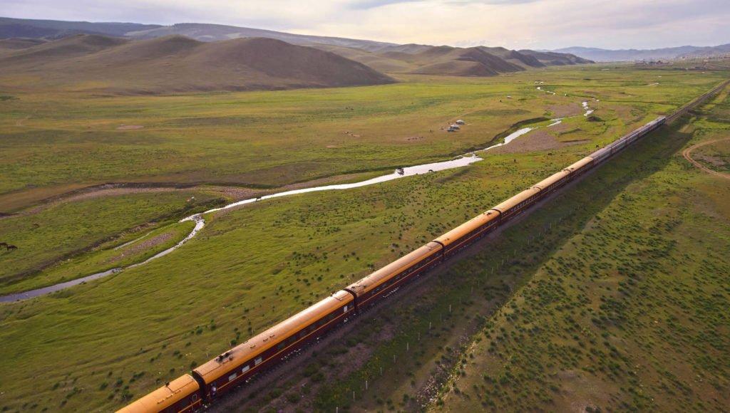 Transsibirische Eisenbahn - Zarengold - Mongolei