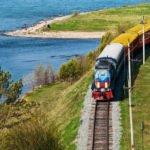 Transsibirische Eisenbahn - Zarengold - Wasser - Anschnitt