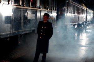 Orient Express - Szene Bahnsteig