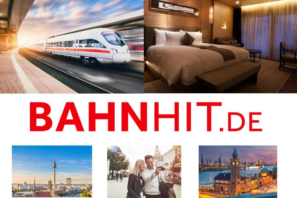 Bahnhit Bahn und Hotel Städtereisen