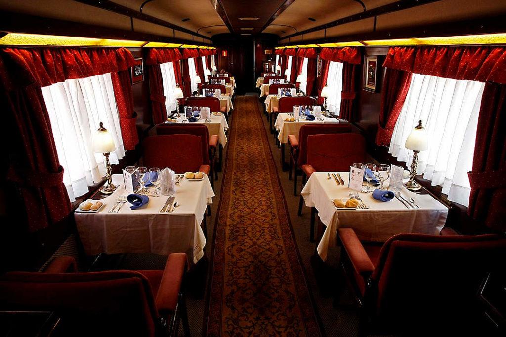 El Transcantabrico - Zugreise Spanien - Speisewagen