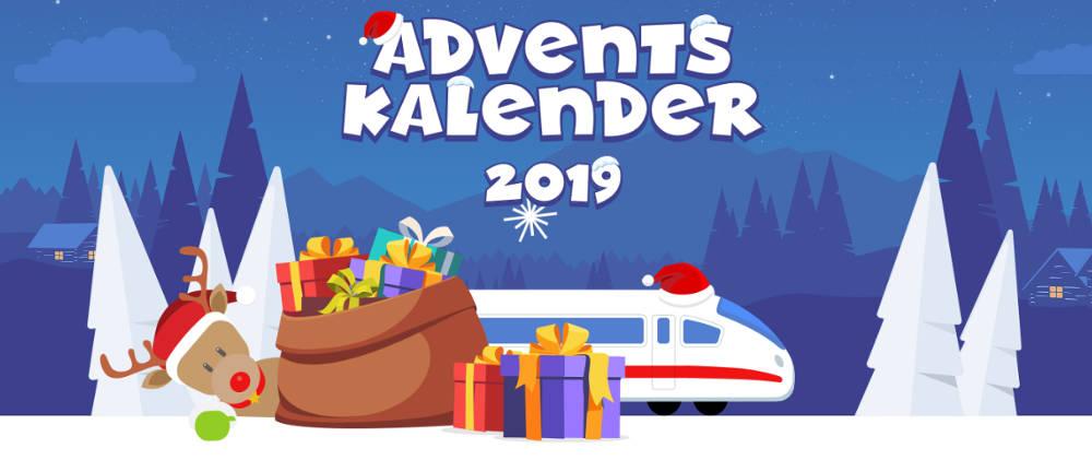 Den letzten DB Adventskalender gab es im Jahr 2019.