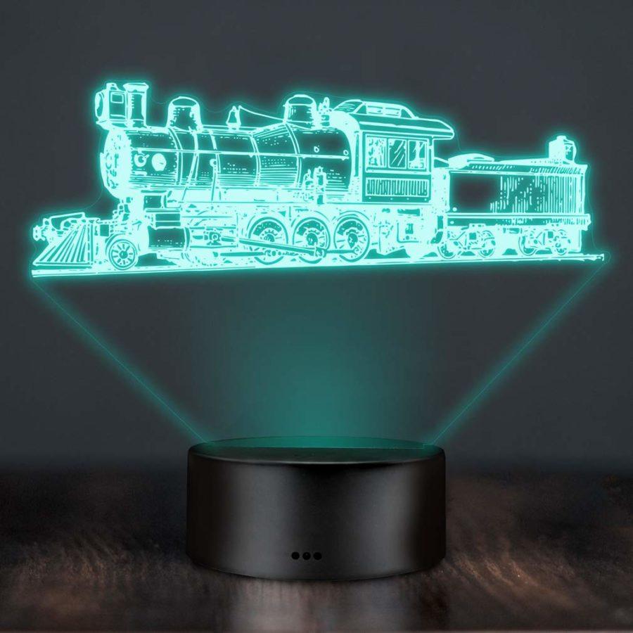 LED-Lampe Dampflok