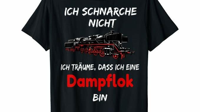 Shirt Dampflok