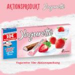 Yogurette Bahn Gutschein