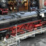 Dresdener Dampfloktreffen - Dampflok auf Drehscheibe